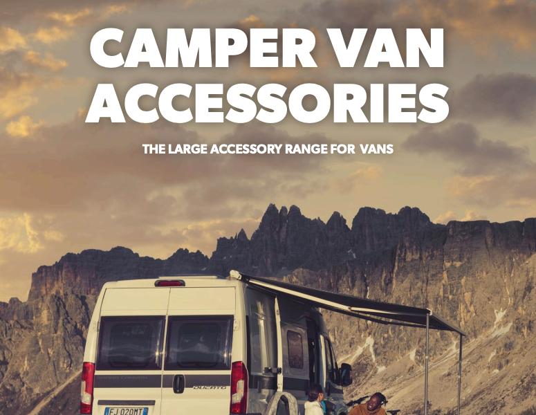 Campervan Accessories Catalog 2018
