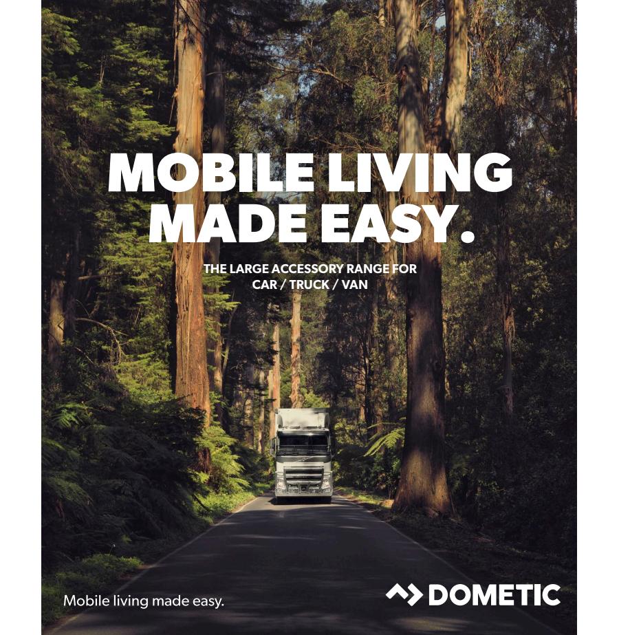 Dometic Car/Van/Truck Catalog 2018 spec sheet