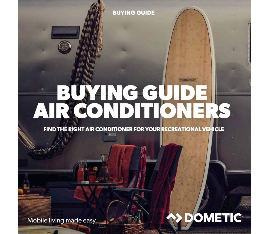 Dometic Vehicle Air Conditioning Buying Guide 2018 spec sheet