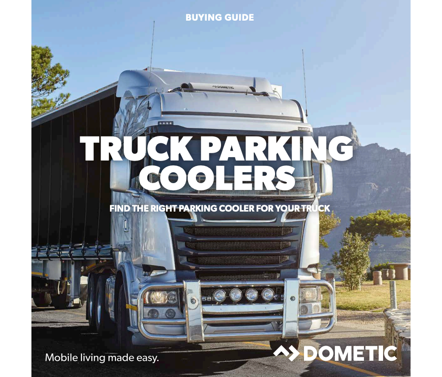 Truck Parking Coolers Buying Guide spec sheet